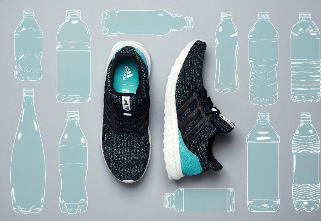 Adidas UltraBoost - 11 Plastikflaschen = 1 Paar Sportschuhe