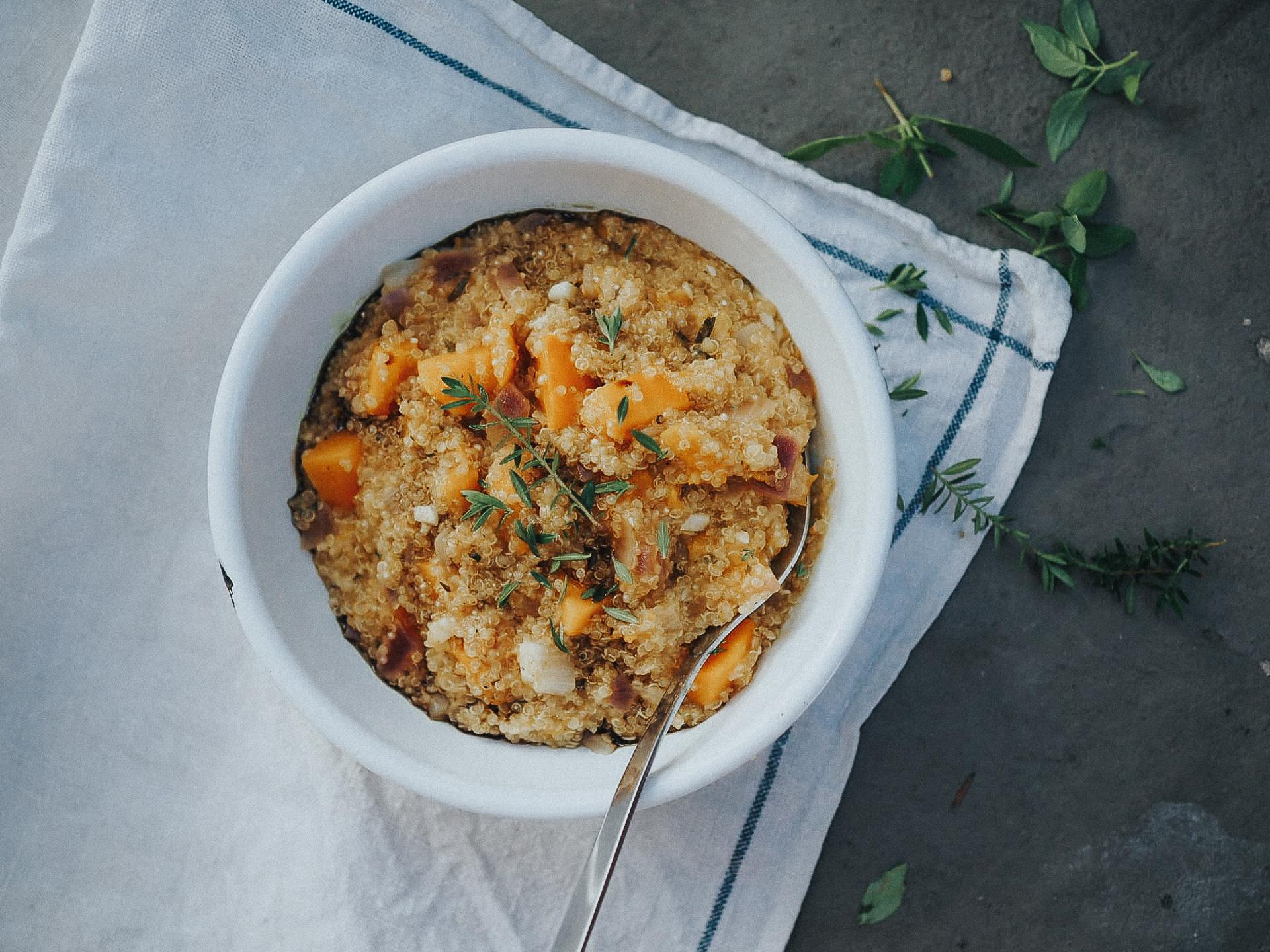 Quinoa ist reich an Proteinen und Eisen. - Fotocredit: Mira Nograsek