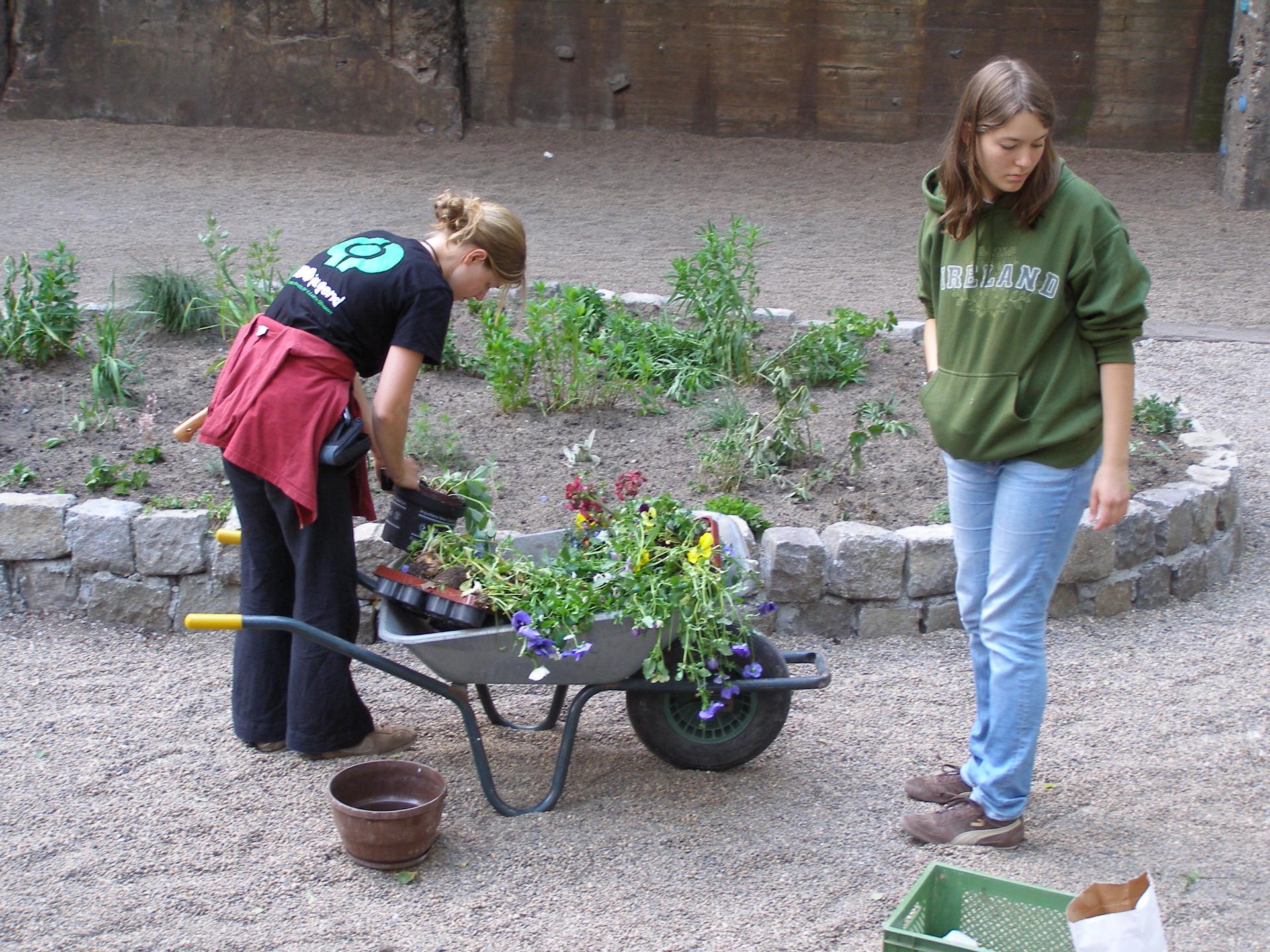 Guerilla Gardening - bundjugendnrw