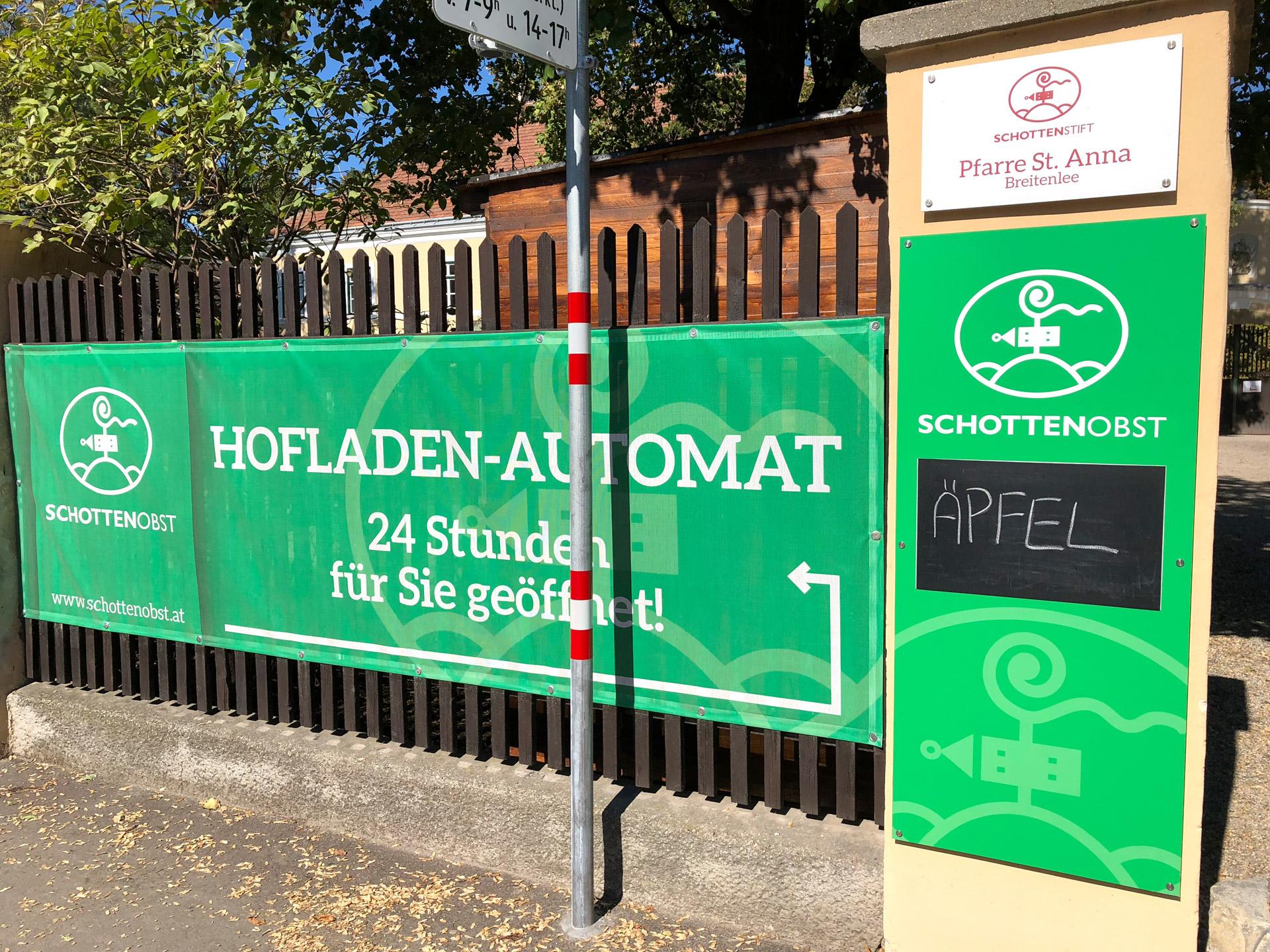 Hofladen-Automat