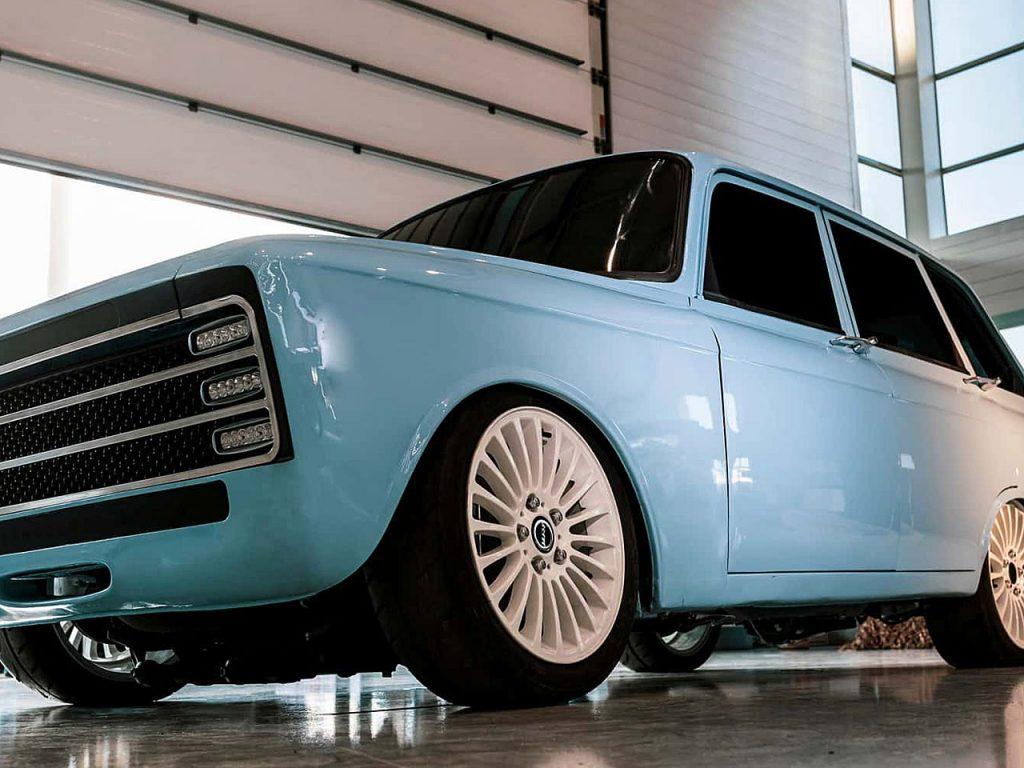 CV-1: E-Auto von Kalaschnikow