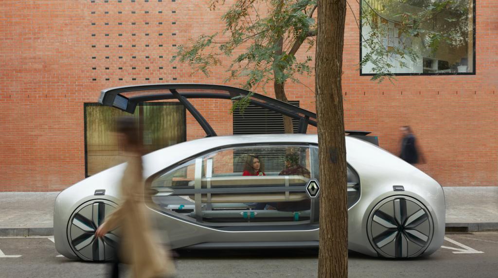 Der selbstfahrende EZ GO von Renault soll den öffentlichen Verkehr bereichern – © Renault