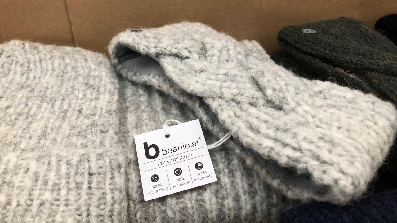 beanies.at auf der WearFair +mehr. -Fotocredit: Lisa Radda