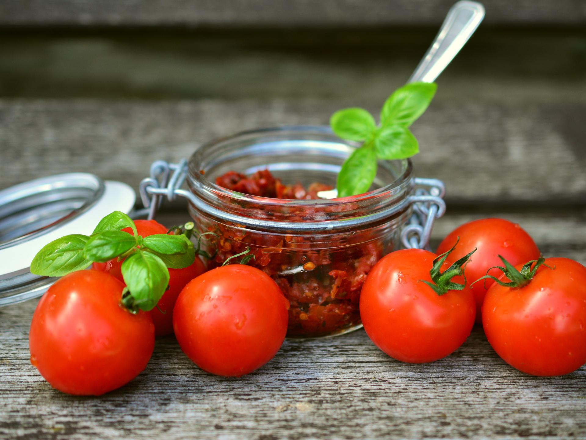 Getrocknete Paradeiser können den Geschmack von fast jedem Gericht aufwerten - Photocredit: pixabay.com/congerdesign