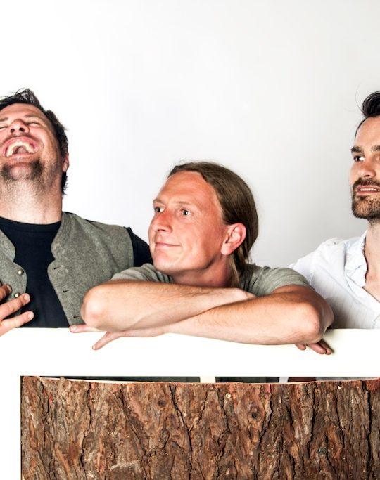 Das Team Barkinsulation: Marco Morandi, Tobias Ulrich und Bernhard Lienbacher