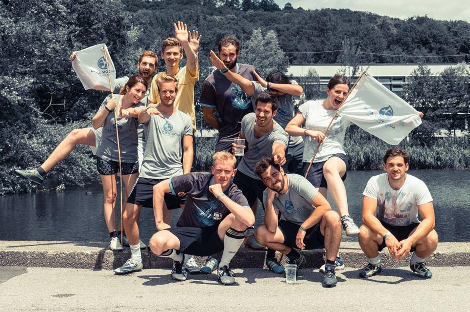 Egal ob mit Sport, Kunst oder Musik - Hauptsache dabei sein und Spaß haben ist das Motto bei VcA. - Fotocredit: Viva con Agua Linz