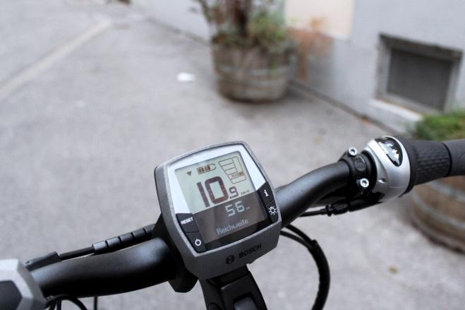 Reichweite des E-Bikes / Fotocredit: Pia Minixhofer