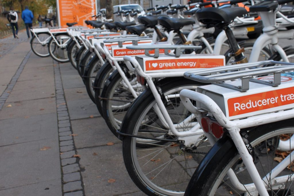 E-Bikes in Kopenhagen / Fotocredit: Pia Minixhofer