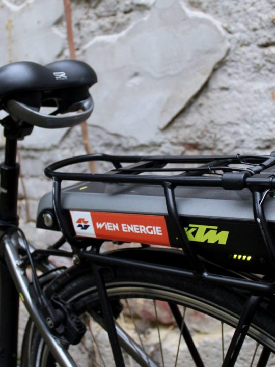 Wien Energie E-Bike / Fotocredit: Pia Minixhofer