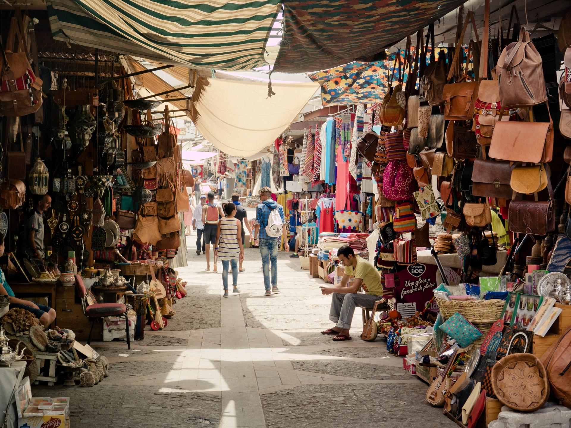 Einheimische Märkte, die nicht im Reiseführer stehen können ein besonderer Geheimtipp sein, um die dortige Kultur kennen zu lernen - Photocredit: pixabay.com/TheUjulala
