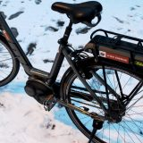 E-Bike im Winter / Fotocredit: Pia Minixhofer