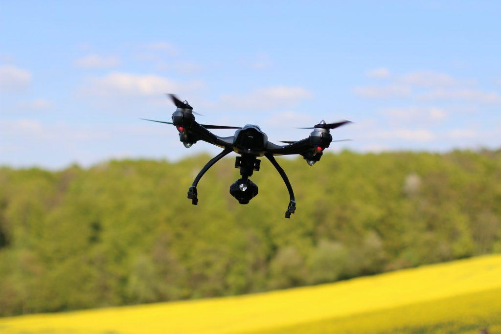 Symbolbild – Sind Drohnen Teil einer agilen architektonischen Zukunft?