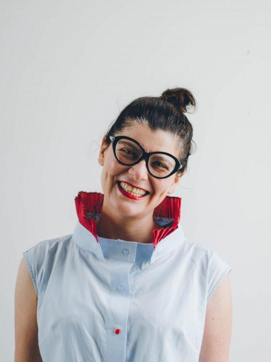 Magdalena ist die Designerin von mamamu und theSHIRT modular system. - Photocredit: Aneta K. Pawlik