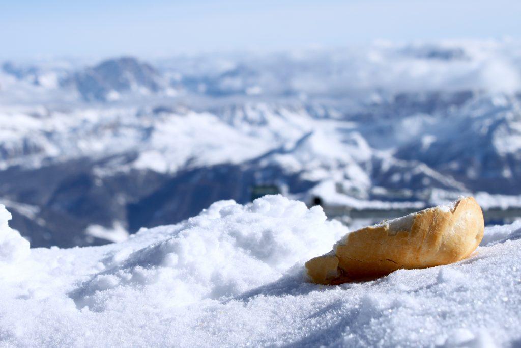 Weniger Abfall im Schnee - Fotocredit: Pia Minixhofer