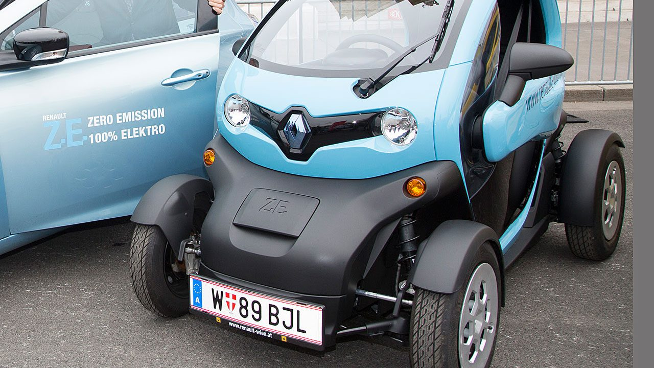 2. Renault Twizzy - Fotocredit: Renault