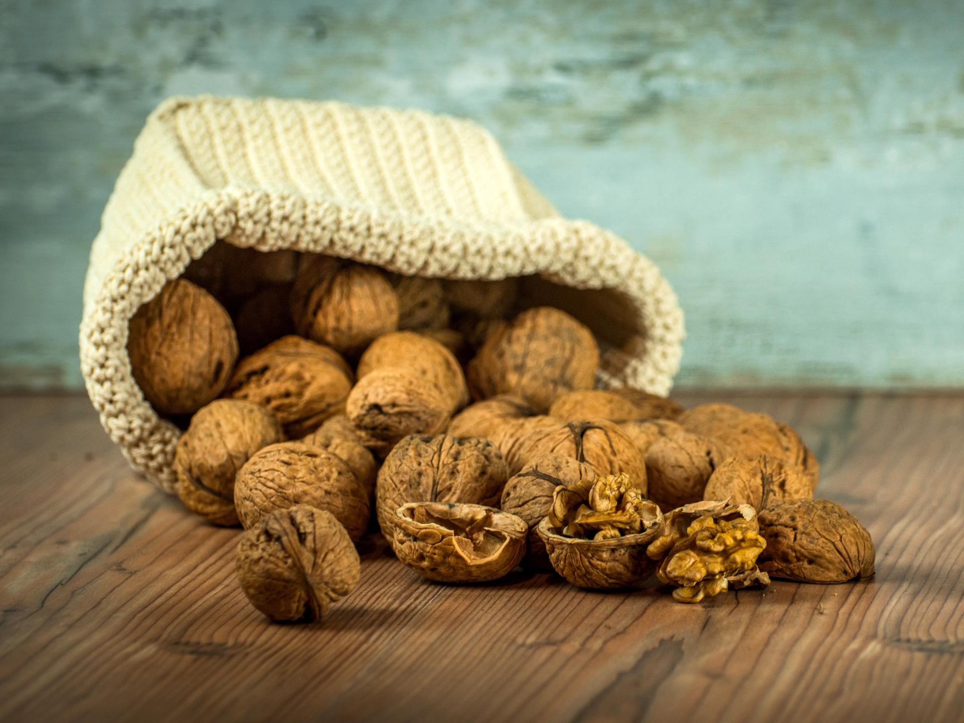Walnüsse schmecken nicht nur gut, sie sind auch Nerven- und Hirnnahrung und liefern wichtiges Vitamin B. - Photocredit: pixabay.com/LubosHouska
