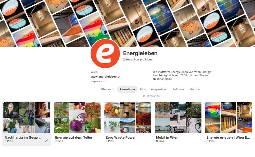 Energieleben auf Pinterest ; Bildquelle: Energieleben Redaktion