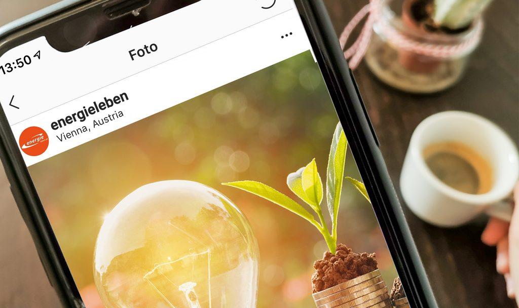 Energieleben Profis jetzt auch auf Instagram. Bildrechte: Energieleben Redaktion