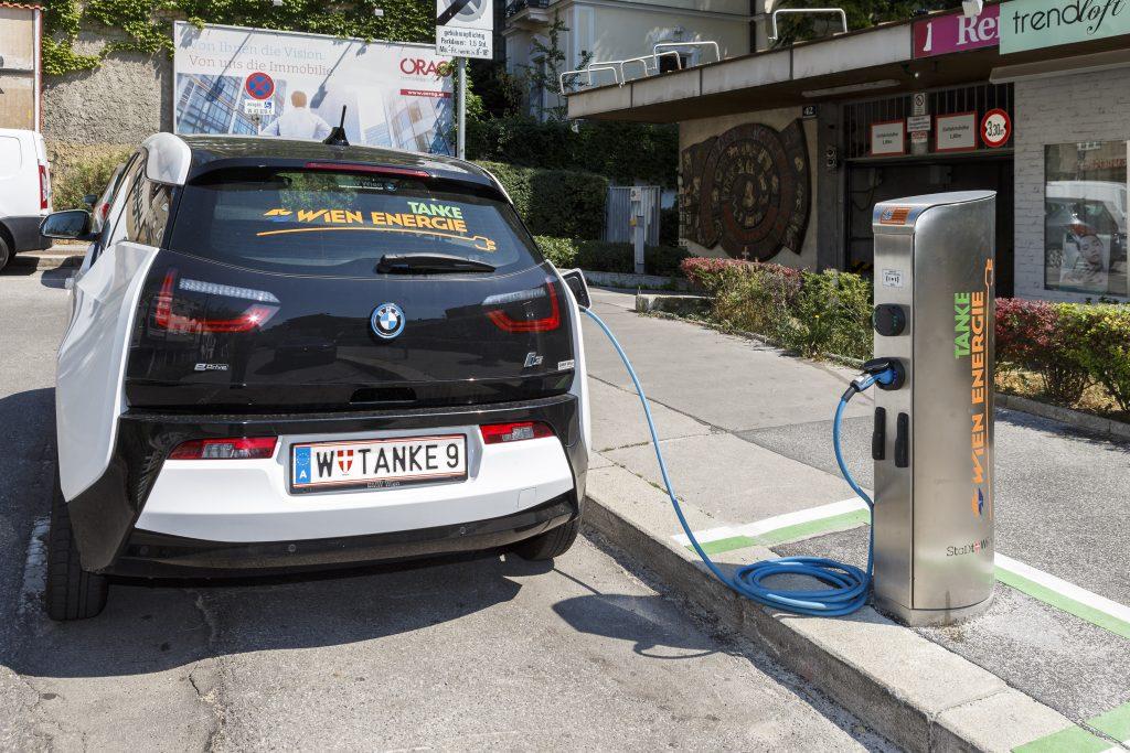 Wien Energie Ladestelle ; Fotocredit: Wien Energie/FOTObyHOFER