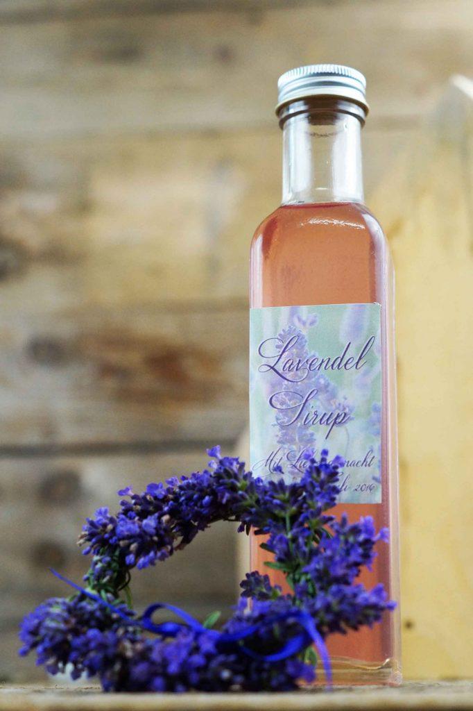 Aromatischer Lavendelsirup. - Fotocredit: Doris Kern