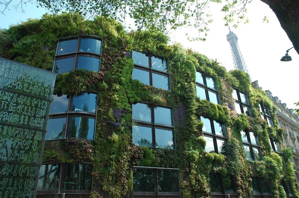 Gebäudebegrünung / Fotocredit: Flickr