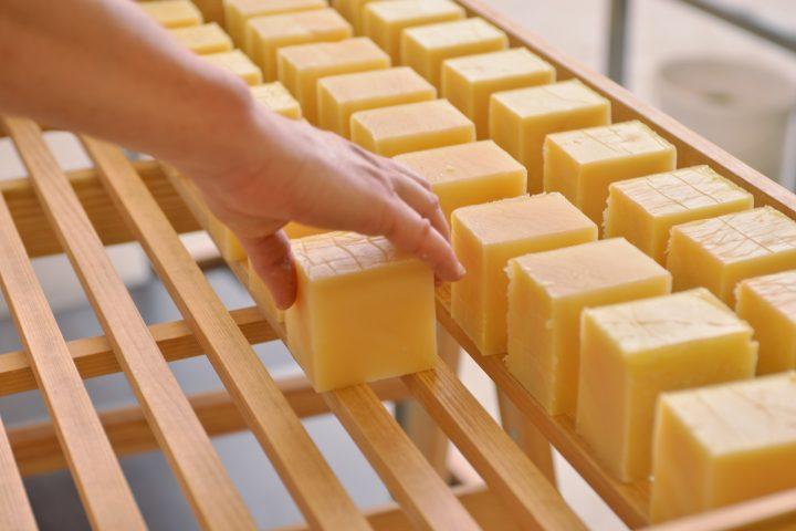 Wiener Seife Produktion Photocredit: Gernot Langs / Wiener Seife