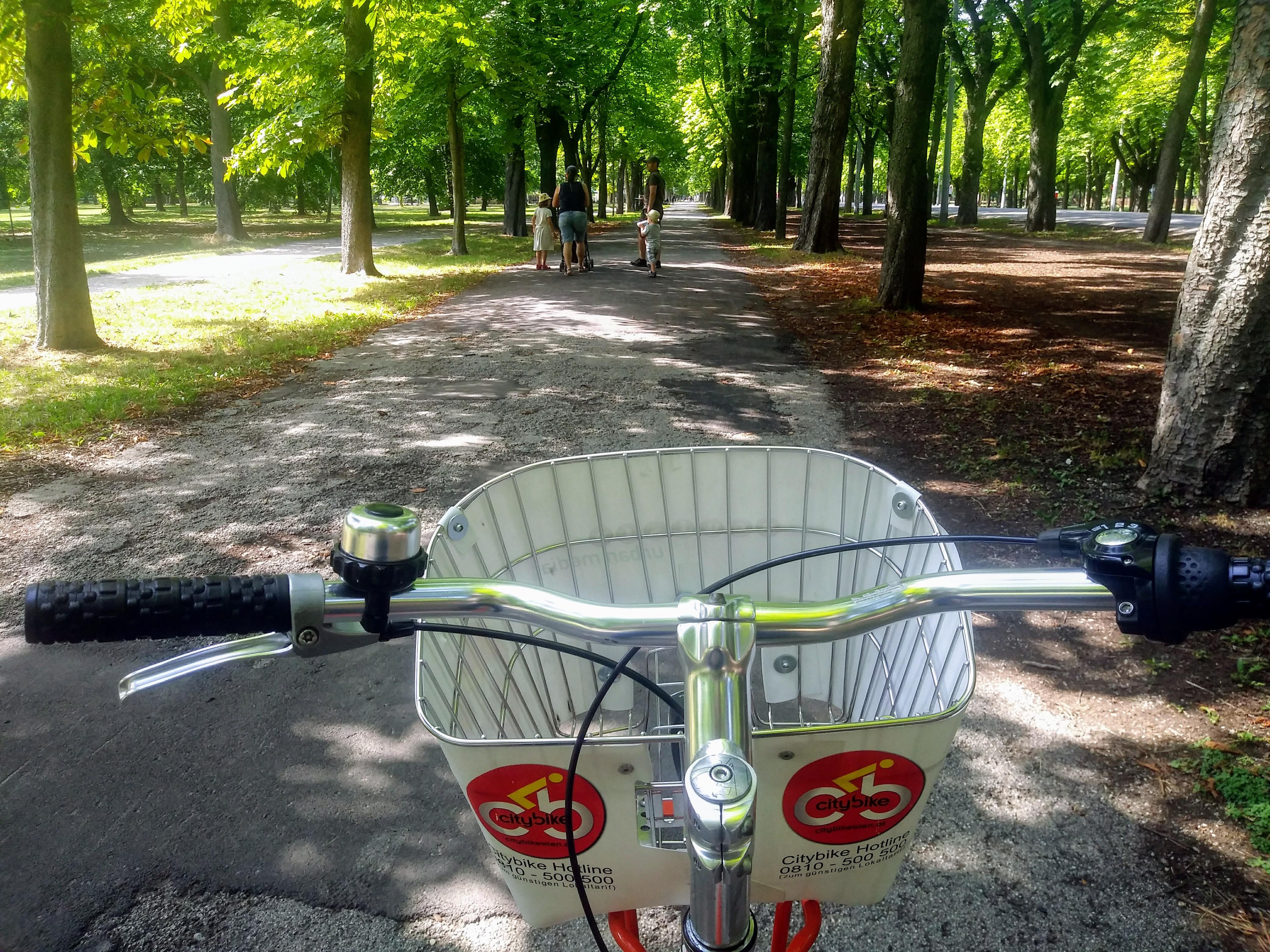 Mit dem City Bike den Prater erkunden