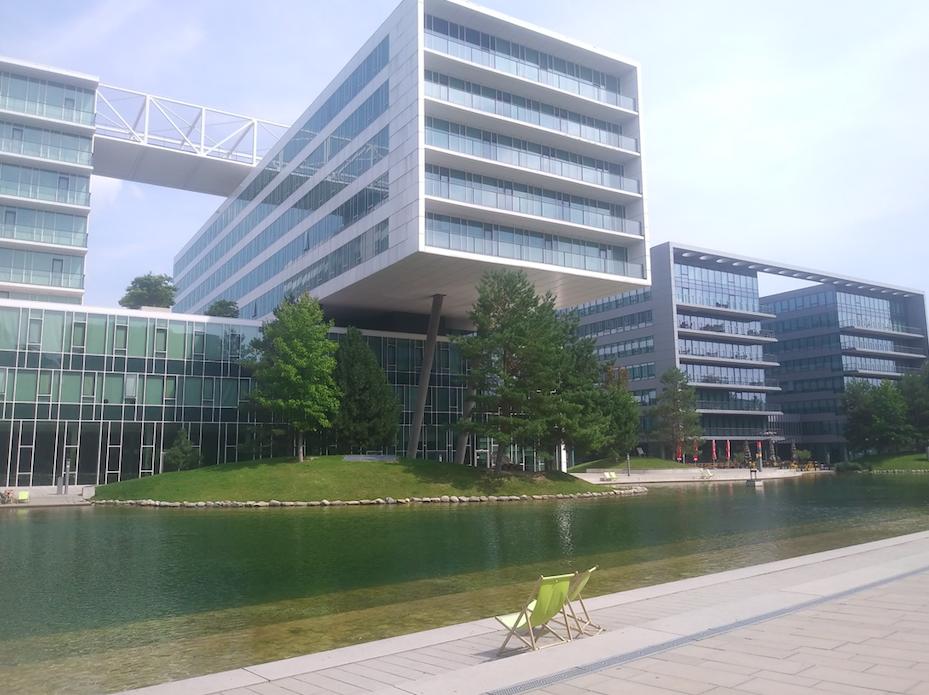 Kontemplation und urban Lifestyle – im Viertel Zwei trifft moderne Architektur auf Erholungsbedürfnis