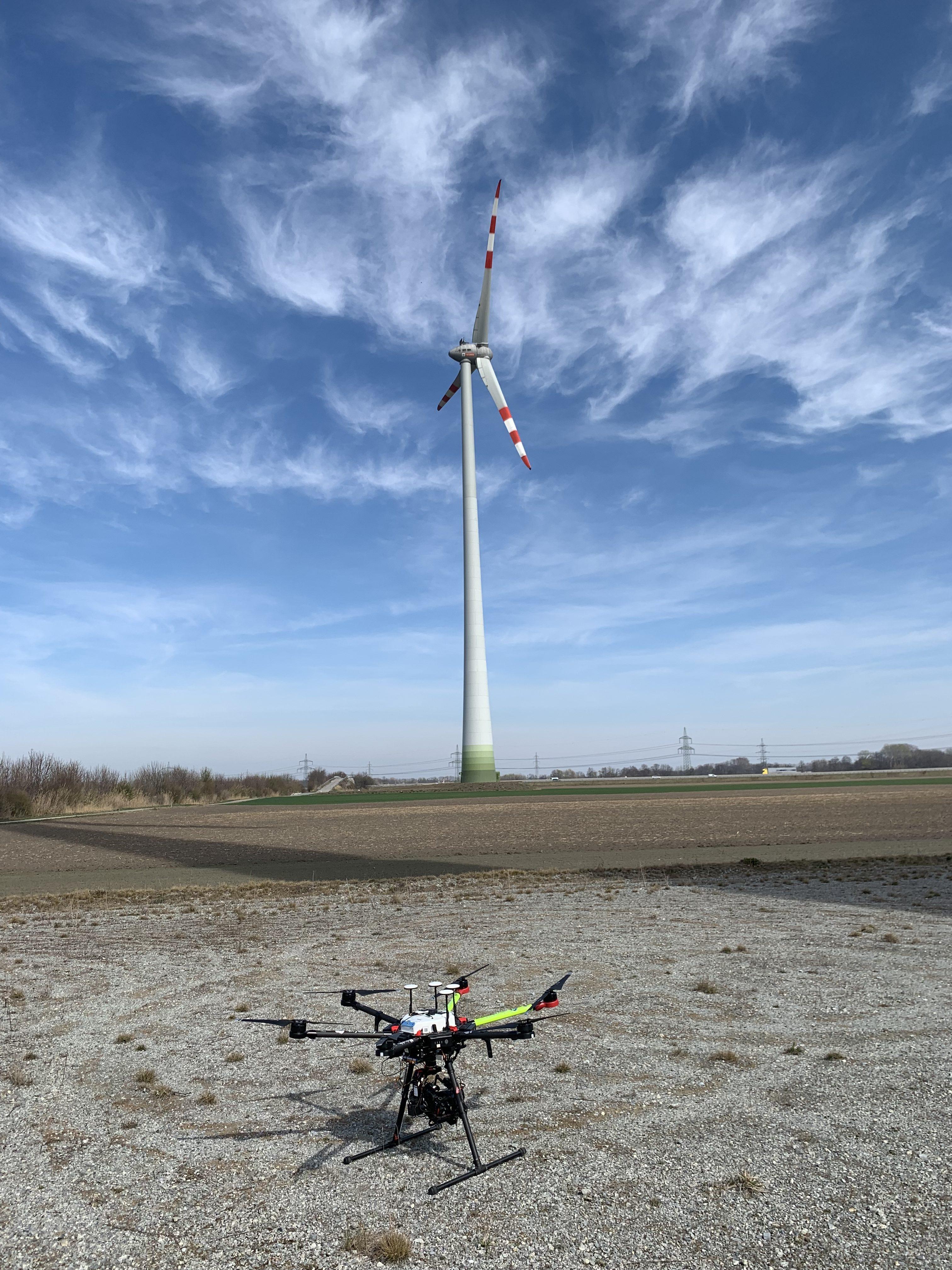 In Zusammenarbeit mit Skyability Drohnen. Fotocredit: Energieleben Redaktion