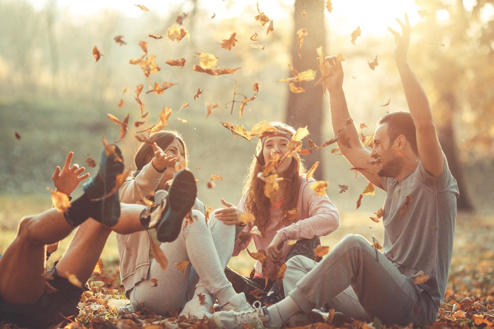 Gruppe von Freunden, Photocredits: milanzeremski