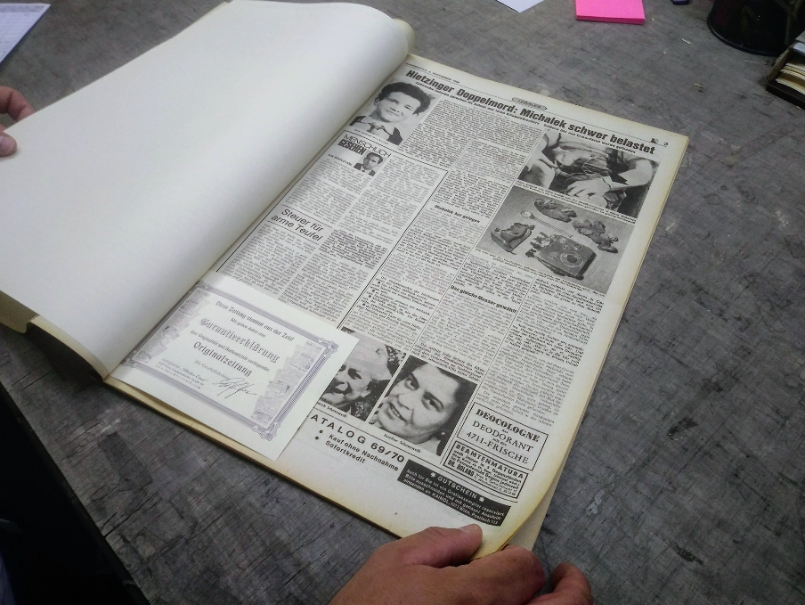 Historische Zeitungen von jedem Tag und jedem Jahr der letzten 200 Jahre? Ein besonderes Geschenk für Jubiläen.