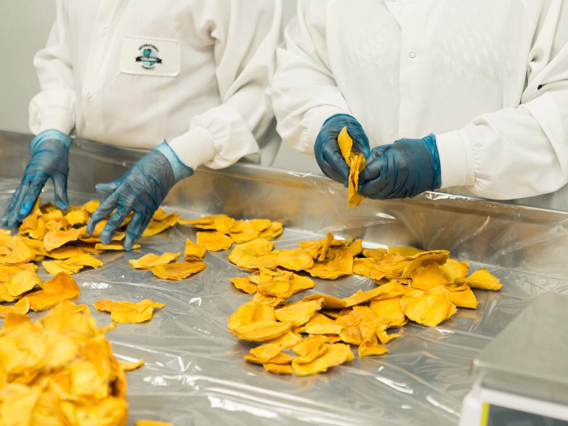 Labor, Lebensmittel