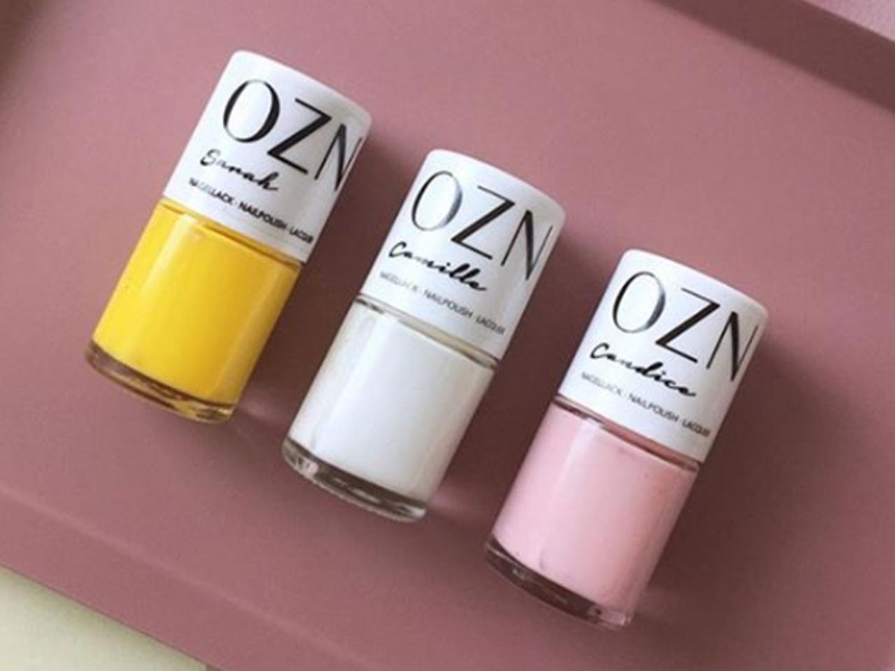 Die Lacke von OZN werden in Deutschland abgefüllt. Und auch alle verwendeten Inhaltsstoffe werden in Deutschland hergestellt. -Fotocredits: OZN