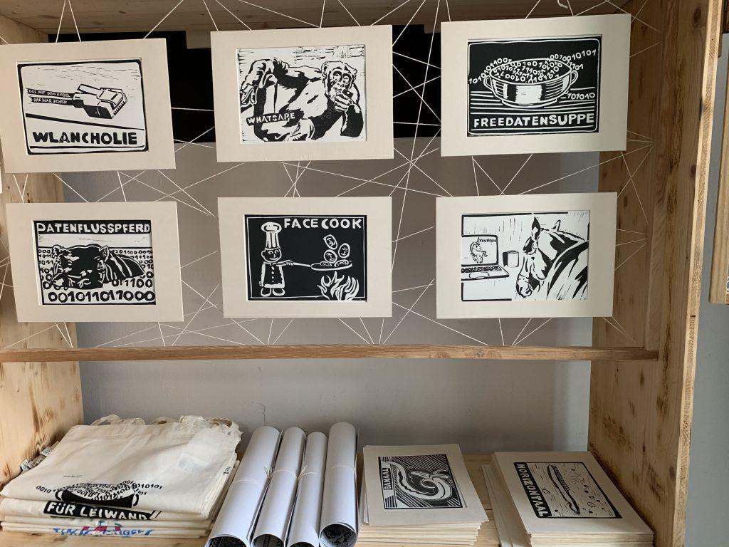 Seit Kurzem gibt es auch Prints bei Bernd. Fotocredit: Energieleben Redaktion
