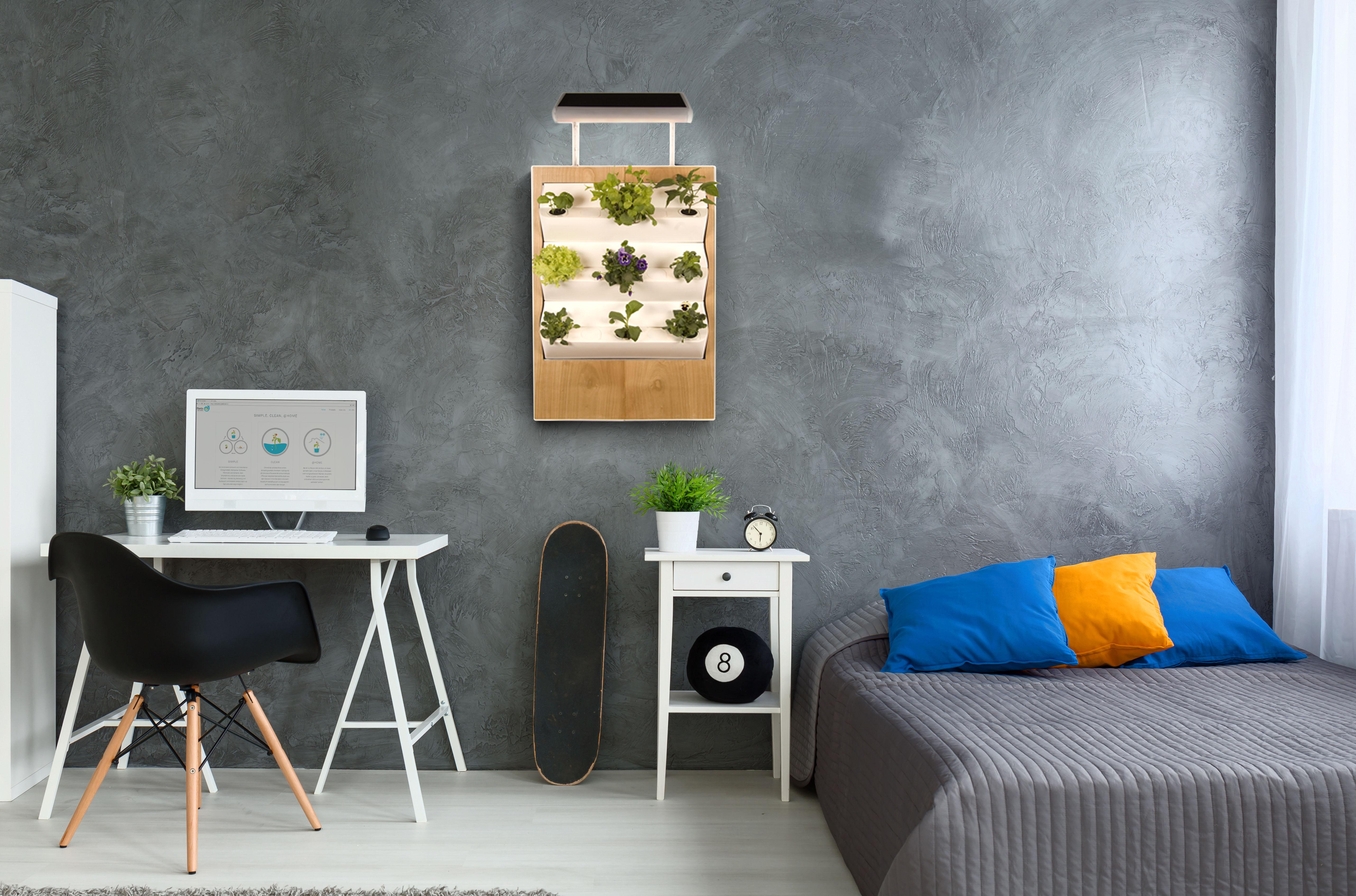 Passt in jede Wohnung – was im Herbert gezüchtet wird, bleibt jedem selbst überlassen – Foto: © Ponix Systems