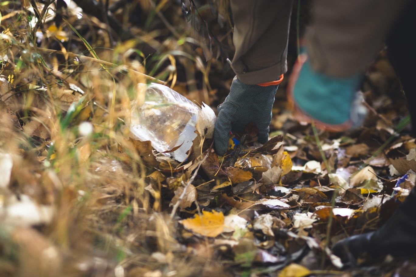 Einmal pro Monat ist die Gruppe bisher zum Müllsammeln unterwegs – Foto: © Simone Hart