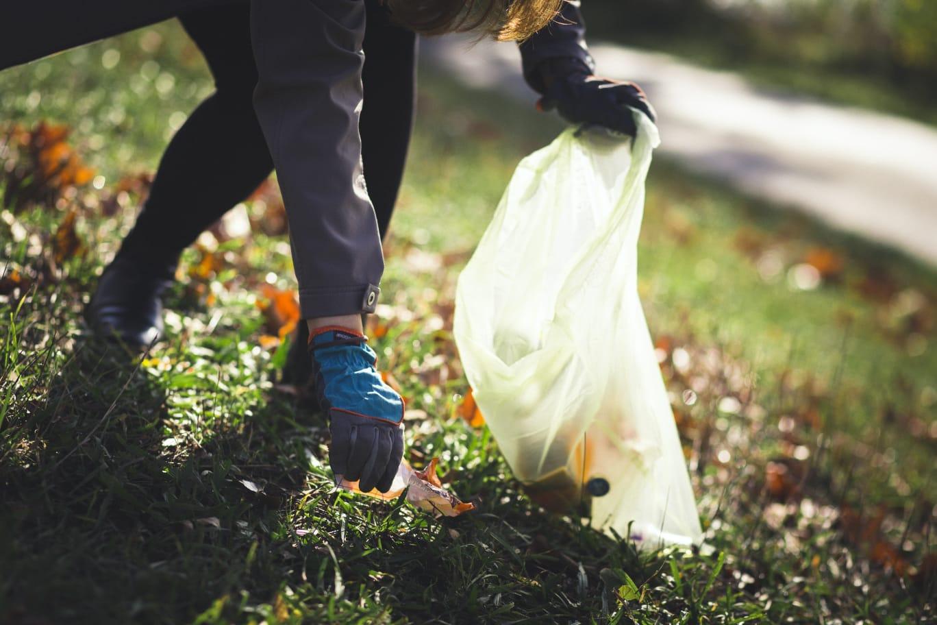 Ob im Wald oder sonst wo im Grünen – die Teilnehmer rücken mit eigenen Müllsäcken zum Einsammeln aus – Fotos: © Simone Hart