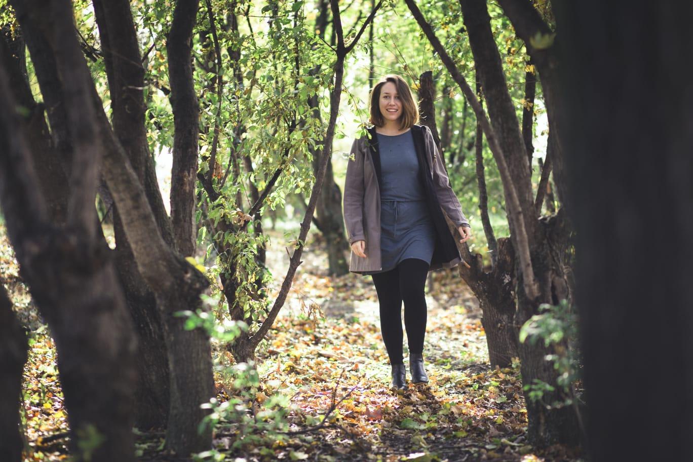Elisa Maier plädiert für Achtsamkeit mit der Natur sowie mit sich selbst – Foto: © Simone Hart