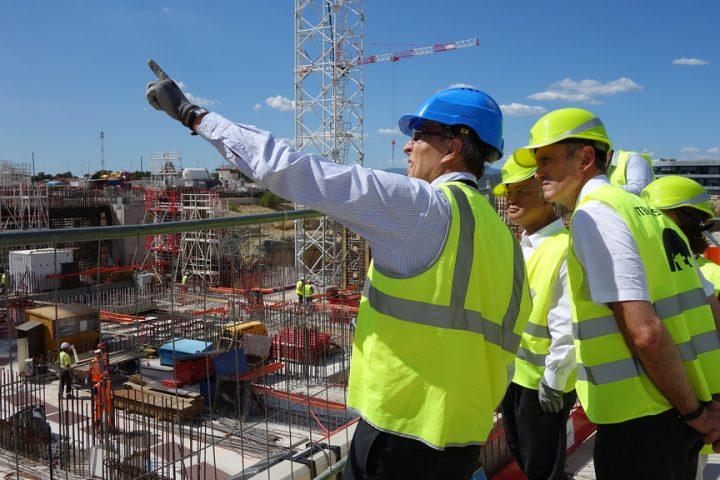 Zwei Drittel des Forschungsreaktors sind bereits fertiggestellt – Foto: © ITER by IAEA Imagebank / CC BY-NC-ND 2.0