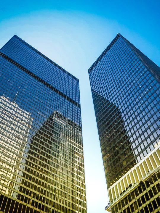 Büroturmkulisse in Toronto – dazu will stackt ein Gegengewicht bieten – Foto: © nextvoyage / Pixabay