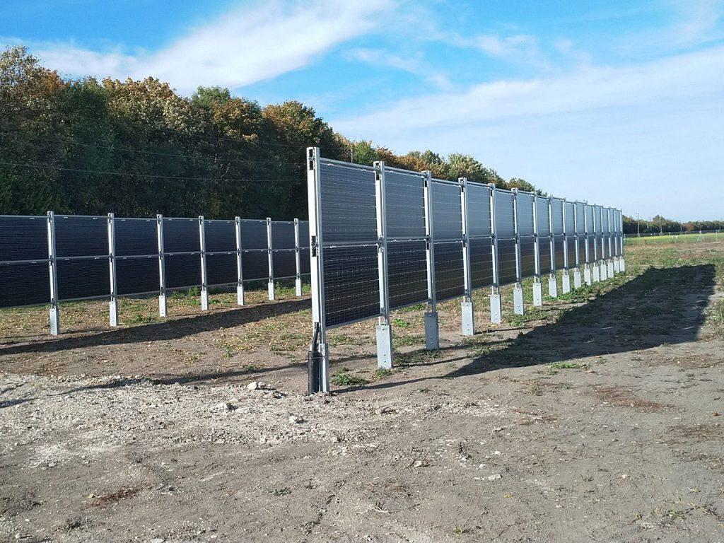 Die Agrar-PV-Anlage - Fotocredit: Wien Energie