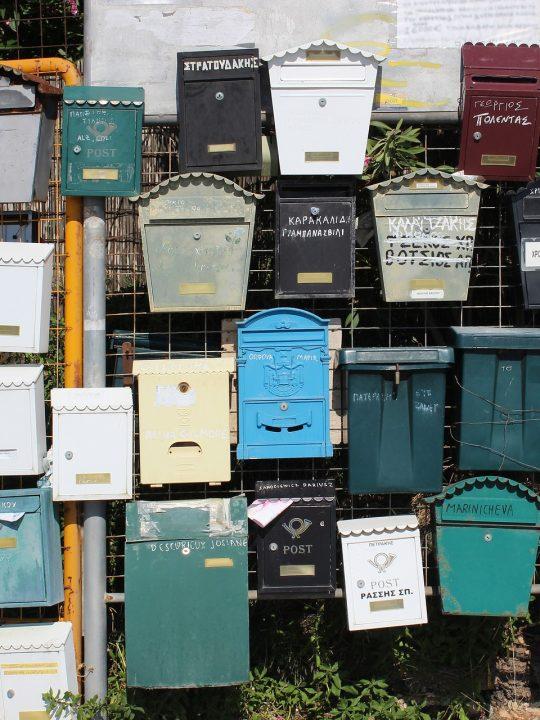 Briefkästen werden in Graz bald CO2-frei gefüttert. Der städtische Fuhrpark der Briefzusteller wird noch diesen Herbst zur Gänze aus E-Fahrzeugen bestehen. Fotocredit: © ninita_7/Pixabay