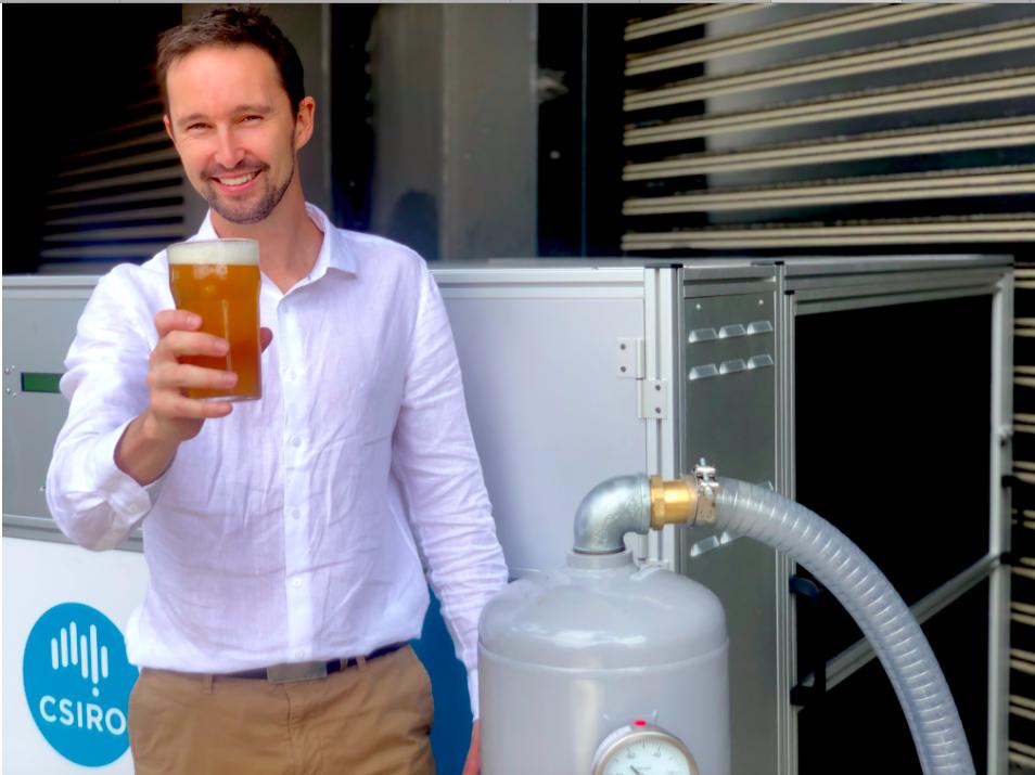 Könnte die Forschung von Dr. Aaron Thornton ein Segen für das Bier sein? Fotocredit: © CSIRO