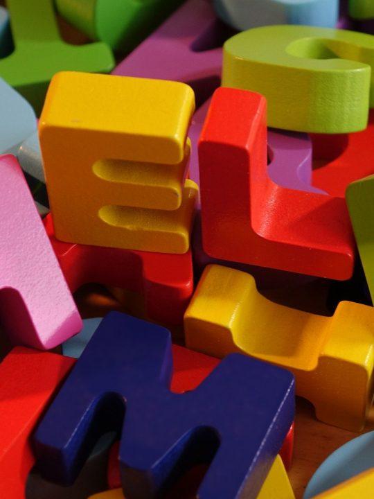 Buchstaben lernen leicht gemacht. Foto: © Gerd Altmann / Pixabay