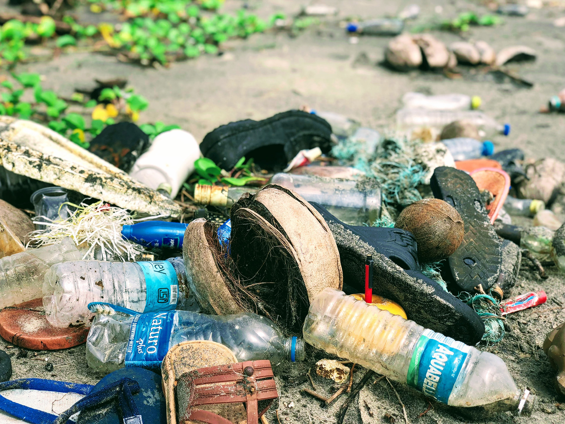 Gute Taten - Müll sammeln