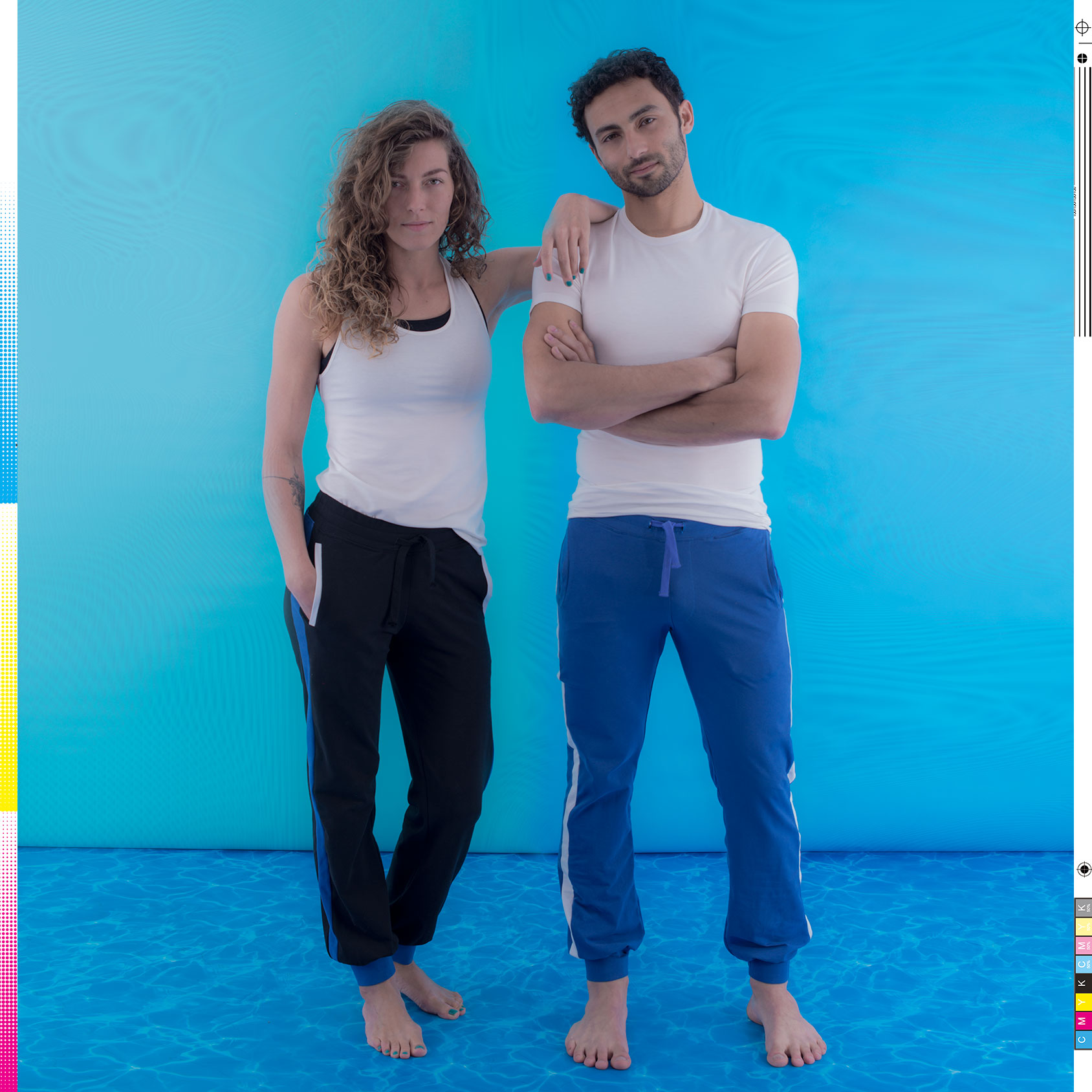 """Das österreichische Label produziert nachhaltige Sportmode wie z. B. diese unisex """"All Day Pant"""" aus griechischer Bio-Baumwolle. Fotocredit: © www.nicetomeetme.at/www.sturmfotografie.at"""