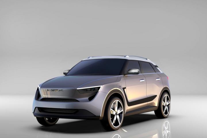 """Mit dem SUV Snowy will das Unternehmen H2X einen """"Superhybrid"""" mit 650 Kilometern Reichweite auf den Markt bringen. Foto: © H2X/h2x.earth"""