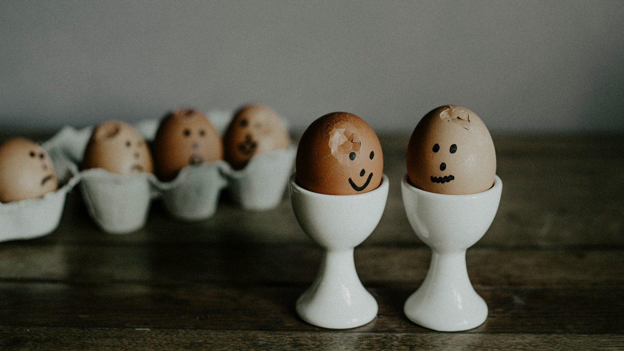 Die Schalen gekochter Eier – ab auf den Kompost! Bild: Pexels