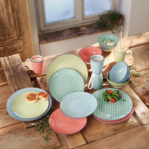 Praktische Geschirrsets gibt es im Waschbär Online-Shop. -Fotocredits: Waschbär