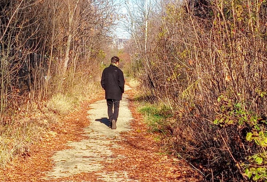 Wer Ruhe sucht, wir sie hier finden, denn bei einem Spaziergang in dieser Gegend begegnen einem nicht mehr viele Menschen.